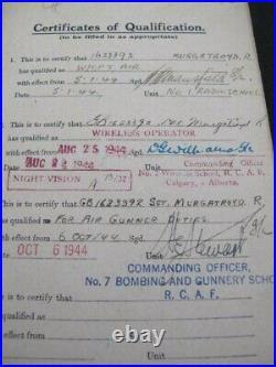 RAF Log Book