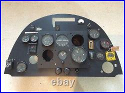 RAF WW2 British Spitfire fighter aircraft Royal airforce gauge instrument panel