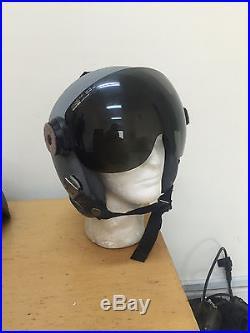 RARE USAF GENTEX HGU-53/P Aircrew Flight Helmet Size 2