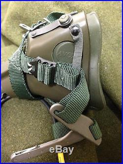 RARE! Vintage USAF ROKAF MBU-5/P Scott OXYGEN MASK US Korea Military Gear