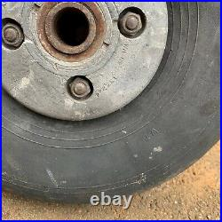 RARE WW2 RAF Halifax Bomber Tail Wheel WW2 Plane Wheel & Alloy Centre AM Marked