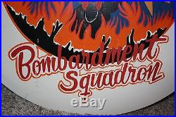 RARE original WWII 483rd Bombardment Group 815 AIR FORCE hand painted sign