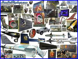 ROLLERON off AIM9 Sidewinder Missile Rear Fin! Raytheon TopGun USAF Aero Science