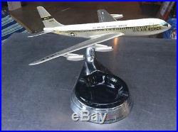 Rare Allyn Desk Top Model Boeing Stratoliner Ashtray Jet Mid Century Air Force