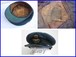 Rare Early WWII Battle of Britain 1939 RAF Officers Tunic and Peaked Cap
