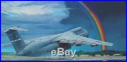 Roden 330 USAF Lockheed C-5B Galaxy U. S. Air Force Military Aircraft 1/144 scale