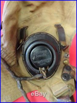 Royal Air Force 1st Pattern Tropical Type D Flying Helmet