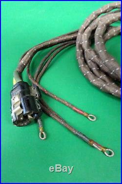 Royal Air Force Flying Helmet Wiring Loom- Complete