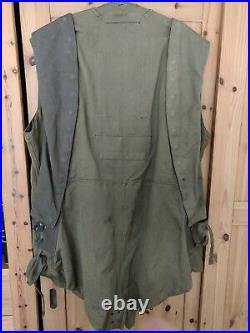 Royal Air Force GQ combined pattern flying suit / parachute harness