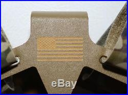S&S Precision Plate Frame Multicam USAF 18th Weather Squadron SOF Plate Carrier