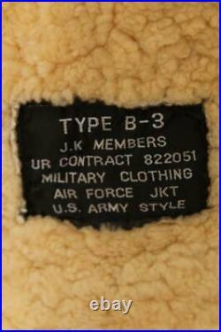 Stunning B-3 Sheepskin USAAF Leather Flight Jacket Medium 40/42