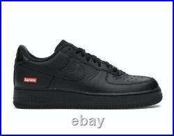 Supreme Nike Air Force 1 Low Black