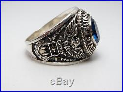 T22, Sterling Silver Ring, The United States, Usaf, Us Air Force Size, 11.75