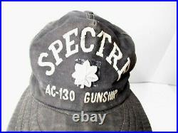 Theater Made Embroidered Party Suit Cap Vietnam War USAF AC130 Gunship Spectre