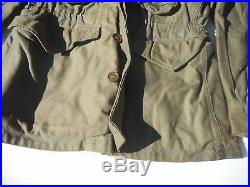 USAAF M-1943 Field Jacket OD Green Size 38 15th Airforce