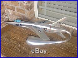 USAF 1960's Verkuyl Republic F-105B Thunderchief 1/50 Metal Model Airplane