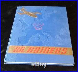 USAF 86th Fighter Bomber Group / Wing THE 86th RAIDERS Book History Photos RARE