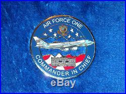 Usaf Air Force One Af-1 Sam Fox Potus Us Cinc Andrews Serial #238 Challenge Coin