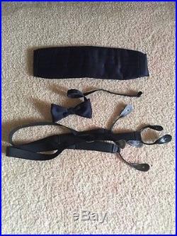 USAF Air Force AF Officer Men's Mess Dress Uniform 43R Coat 35/30 Pants