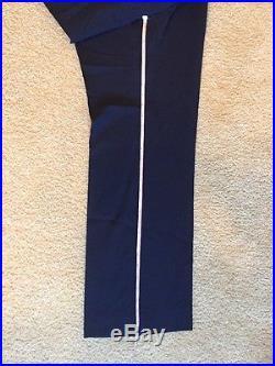 USAF Air Force AF Officer Men's Mess Dress Uniform 44R Coat 34/29 Pants