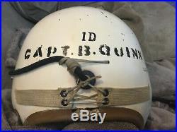 USAF Air Force Pilot Flight Helmet P1 P-1 converted Early no rail P-4 RARE LITE