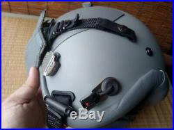 USAF Airforce Pilot Helmet GENTEX HGU-55/p with Cover Visor Size Large NICE