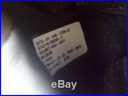 USAF Airforce Pilot Helmet GENTEX HGU-55/p with Cover Visor Size Medium NEW