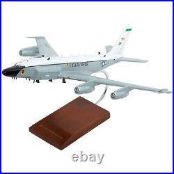 USAF Boeing RC-135V/W Rivet Joint Old Engines Desk Top 1/100 Model ES Airplane