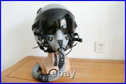USAF F-15 Fighter pilot flyer's helmet HGU-55/p + oxygen mask MBU-12