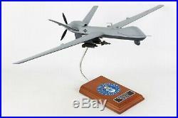 USAF General Atomics MQ-9 Reaper Desk Display Drone UAV Model 1/32 ES Aircraft
