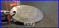 USAF Lockheed SR-71 Blackbird Tail #17967 Genuine Plane Skin Bag Tag Planetags