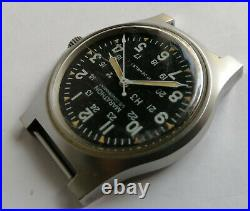 USAF Marathon GG-W-113 Military Watch With Hack Issued In 1984