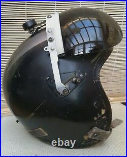 USAF P-4B Flight Helmet, Size large. Made by Gentex in 1963. With custom paint