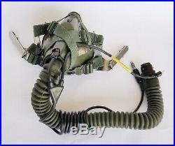 USAF Pilot's HGU-55/P Dual Visor Flight Helmet & MBU 5/P Oxygen Mask