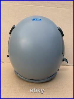 USAF US Air Force Gentex HGU-55/P Pilot Flight Helmet Large Used