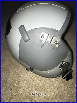USAF US Air Force Gentex HGU-55/P Pilot Flight Helmet New With Visor/OX System SzL