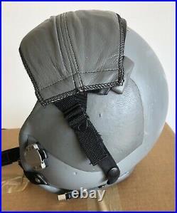 USAF US Air Force Gentex HGU-55/P Pilot Flight Helmet & Visor Cover Medium