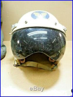 USAF Vietnam Flight Bag Helmet Oxygen Mask