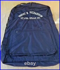 USAF Vietnam LT Col Uniform Suit, Shirt & Hat with original box, Named