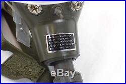 USAF Vintage Sierra Eng Co Pilot's Oxygen Mask MBU-5/P NEW NOS 1978