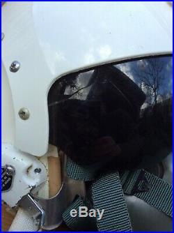 USAF flight helmet HGU 2 A/P and MBU-5 mask