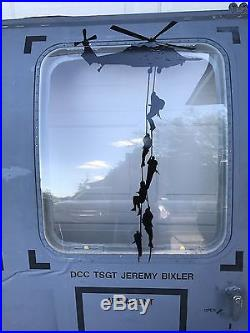 US Air Force HH-60G Pave Hawk Helicopter Crew Door
