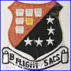 US Air Force USAF B Flight 5th ACS Patch Ace Novelty Tokyo Japan NOS 1968