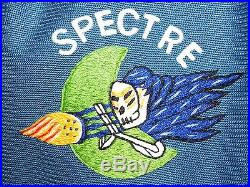 US Air Force USAF Vietnam AC-130 SPECTRE GUNSHIP DIRECT EMBROIDERED PARTY SHIRT