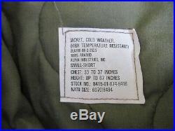 US Army Air Force Fliegerjacke Flight Jacket CWU 36/P USAF Vietnam Cold Weather