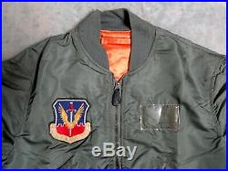 Us Air Force Tactical Air Command L-2b Flying Jacket 1966