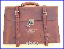 Us Army Air Force Type A-4 Leather Navigator Briefcase