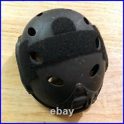 Used L/XL Ops Core Carbon Black Helmet Non Ballistic PJ USAF Crye