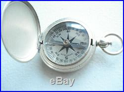 VERY NICE AUTHENTIC WW-2 U. S. AIRFORCE WITTNAUER COMPASS WithBOX 1941 A-3