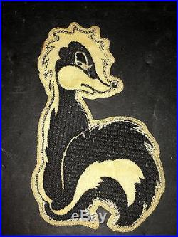 VINTAGE RARE Air Force Advanced Interceptor Training Wing Patch SKUNK 1960s USAF